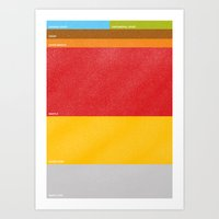 earth Art Prints featuring Earth by Farnell