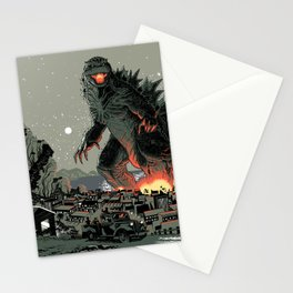 Godzilla - Gray Edition Stationery Cards