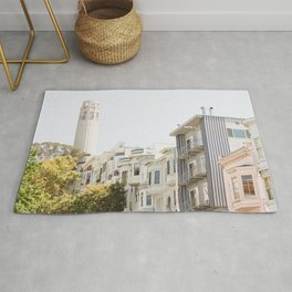 Coit Tower - San Francisco Photography Rug