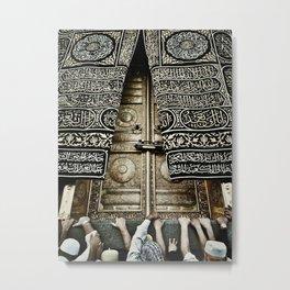 The Ka'aba Door Metal Print