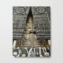 The Ka'aba Door Metal Print