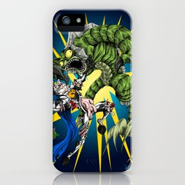 Triumph of the Werefish iPhone Case