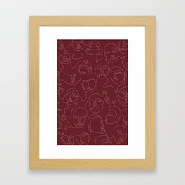 Rich and Bold Framed Art Print