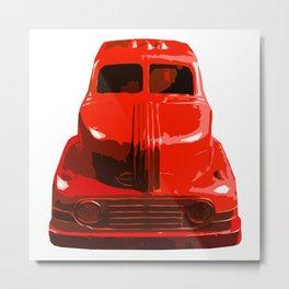 The Bad Trucko Metal Print