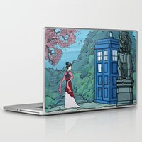hallion Laptop & iPad Skins featuring Cannot Hide Who I am Inside by Karen Hallion Illustrations
