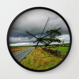 The road ahead Wall Clock