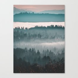 Layers upon Layers Canvas Print