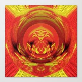 Marigold Fluff And Fold  v.1 Canvas Print