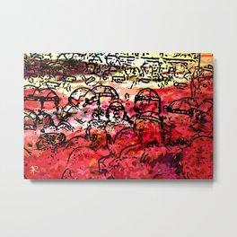 COLLAGE - 8A Metal Print