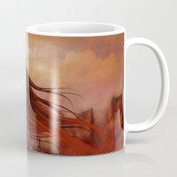 navajo Mugs featuring Navajo by Nicolas Jamonneau