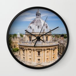 Radcliffe Camera | Oxford London Neo-classical Building Architecture Photography Wall Clock