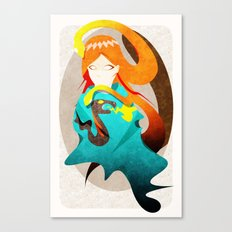 Madame Serpent Canvas Print