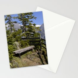 Aellfluh Grindelwald Switzerland Stationery Cards