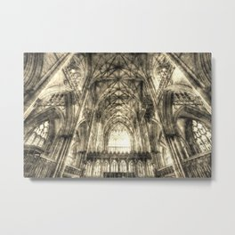 York Minster Vintage Metal Print