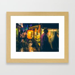 Jongro Up-close Framed Art Print