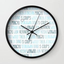 Seventeen Wall Clock