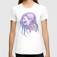 gore T-shirts featuring Pastel Gore Girl by Savannah Horrocks