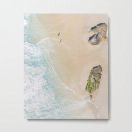 Summer Sands Metal Print