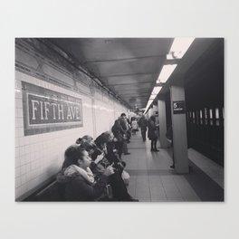 Everyday New Yorker Canvas Print