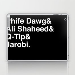 Phife Dawg & Ali Shaheed & Q-Tip & Jarobi. Laptop & iPad Skin