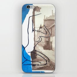 The Lady Down the Lane iPhone Skin