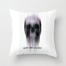 blured Throw Pillow