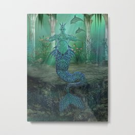 merman Metal Print