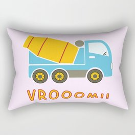 Cement mixer truck Rectangular Pillow
