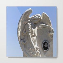 WHITE ANGEL - San Alessio Siculo - Sicily Metal Print