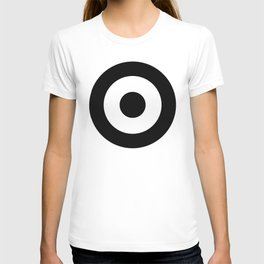 Black & White Mod Target T-shirt