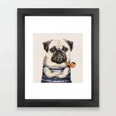 Mr.Pug Framed Art Print
