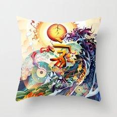 Japan Earthquake 11-03-2011 Throw Pillow