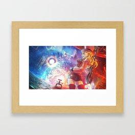 Vagenda Commission #1 (Monori Rogue) Framed Art Print