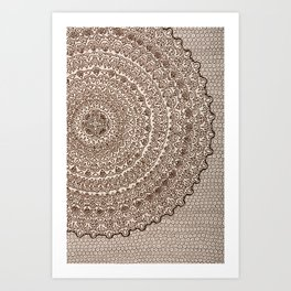 The Center of It All Art Print