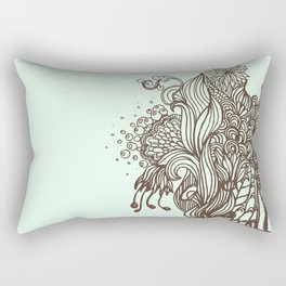 Mint Chocolatey  Rectangular Pillow