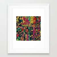 carnival Framed Art Prints featuring Carnival by Glanoramay