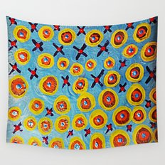 Hugs and Kisses... Wall Tapestry