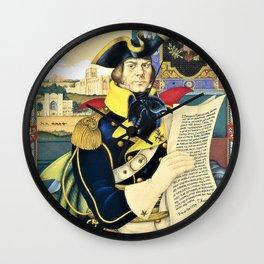 Arthur Szyk - Polish-American Fraternity series, Tadeusz Kosciuszko - Digital Remastered Edition Wall Clock