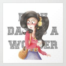 Each day is a Wonder Art Print