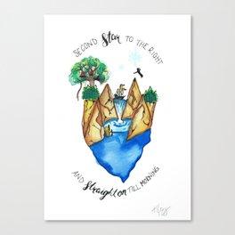 Find Neverland Canvas Print