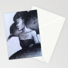 Goddess of the sea Stationery Cards