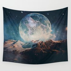 Lake Moon Wall Tapestry