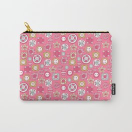 Lovely Buttons for My Darling Carry-All Pouch