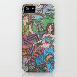 Wanderland iPhone Case