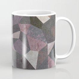 Low Poly Geometric Background Coffee Mug