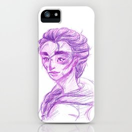 Crayon Reyna iPhone Case