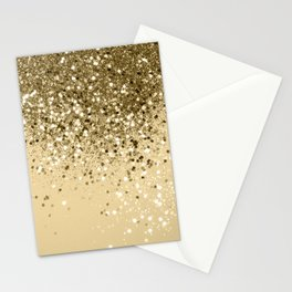 Cali Summer Vibes Lady Glitter #1 #shiny #decor #art #society6 Stationery Cards