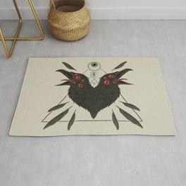 Corvus Corax Rug