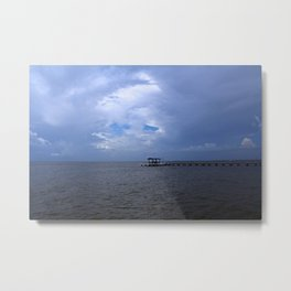 The Pier at Bokeelia I Metal Print