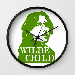 Wilde Child Wall Clock